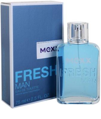 Mexx Fresh Man New Look Eau de Toilette para homens 1