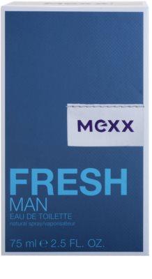 Mexx Fresh Man New Look Eau de Toilette para homens 4