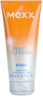 Mexx First Sunshine Woman leite corporal para mulheres