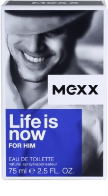 Mexx Life is Now for Him eau de toilette férfiaknak 4