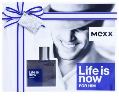 Mexx Life is Now for Him Geschenkset 1