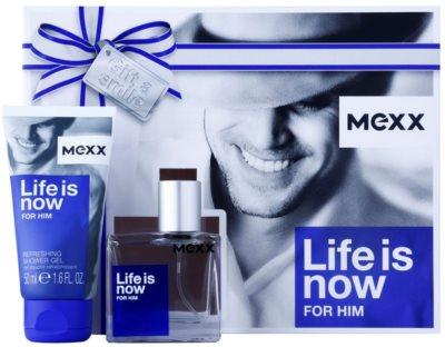Mexx Life is Now for Him ajándékszett