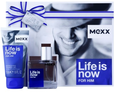 Mexx Life is Now for Him coffret presente
