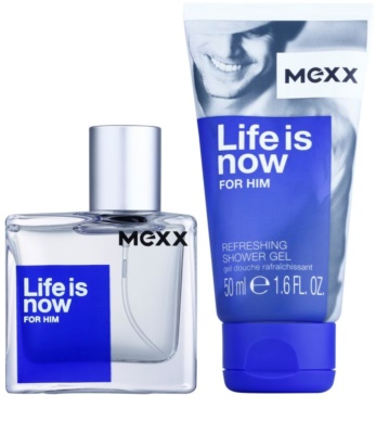 Mexx Life is Now for Him Geschenkset 2