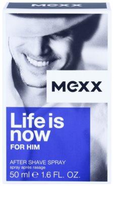 Mexx Life is Now for Him losjon za po britju za moške 1