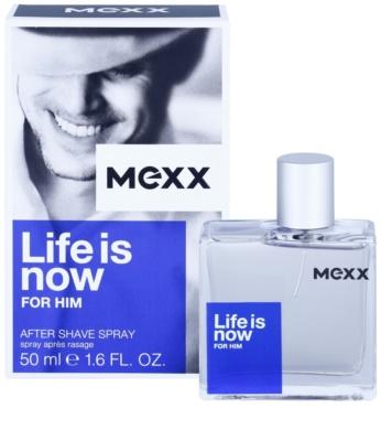 Mexx Life is Now for Him losjon za po britju za moške 2