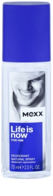 Mexx Life is Now for Him desodorizante vaporizador para homens