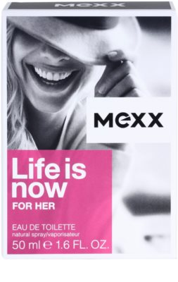Mexx Life is Now for Her eau de toilette nőknek 4