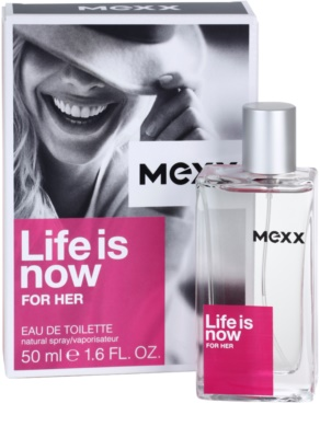 Mexx Life is Now for Her eau de toilette para mujer 1
