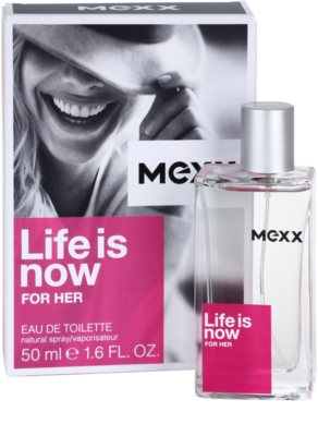 Mexx Life is Now for Her eau de toilette nőknek 1
