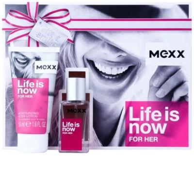 Mexx Life is Now for Her dárkové sady
