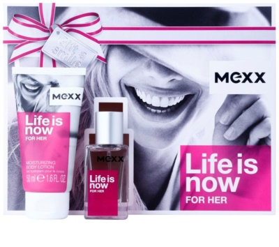 Mexx Life is Now for Her подаръчни комплекти