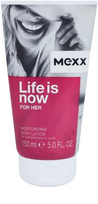 Mexx Life is Now for Her leite corporal para mulheres