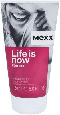 Mexx Life is Now for Her tělové mléko pro ženy