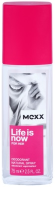 Mexx Life is Now for Her deodorant s rozprašovačem pro ženy