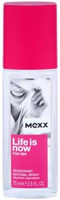 Mexx Life is Now for Her desodorizante vaporizador para mulheres
