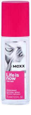 Mexx Life is Now for Her дезодорант з пульверизатором для жінок