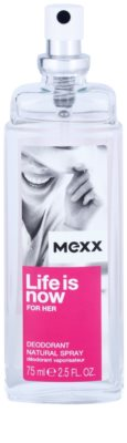 Mexx Life is Now for Her spray dezodor nőknek 1