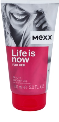 Mexx Life is Now for Her sprchový gel pro ženy