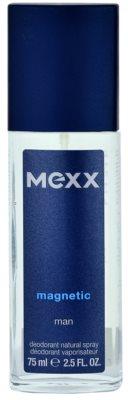Mexx Magnetic Man deodorant s rozprašovačem pro muže
