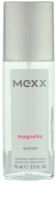Mexx Magnetic Woman deodorant s rozprašovačom pre ženy