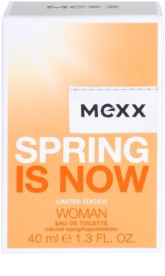 Mexx Spring is Now Woman Eau de Toilette para mulheres 4