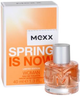 Mexx Spring is Now Woman Eau de Toilette für Damen 1