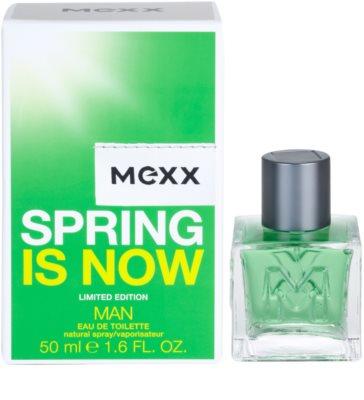 Mexx Spring is Now Man woda toaletowa dla mężczyzn