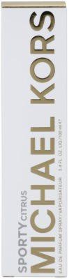 Michael Kors Sporty Citrus eau de parfum nőknek 4