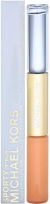 Michael Kors Sporty Citrus Parfumska voda roll-on za ženske  + sijaj za ustnice