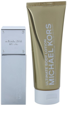Michael Kors White Luminous Gold set cadou 1