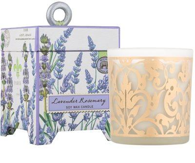 Michel Design Works Lavender Rosemary vela perfumado  em vidro (65-80 Hours)