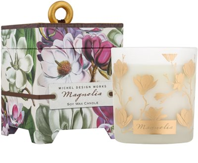 Michel Design Works Magnolia Scented Candle  in Glass Jar (40 Hours)