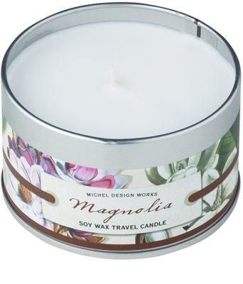Michel Design Works Magnolia ароматизована свічка   в металевій коробці (20 Hours)