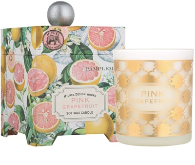 Michel Design Works Pink Grapefruit vela perfumado  em vidro (65-80 Hours)