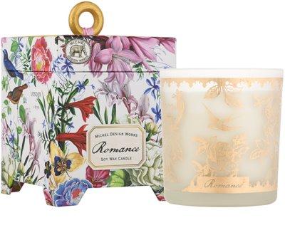 Michel Design Works Romance vela perfumada   en vidrio (65-80 Hours)