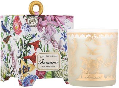 Michel Design Works Romance vela perfumado  em vidro (65-80 Hours)