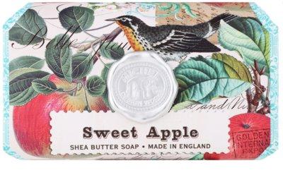 Michel Design Works Sweet Apple feuchtigkeitsspendende Seife mit Bambus Butter