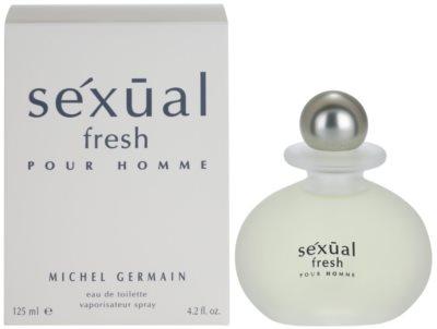 Michel Germain Sexual Fresh Pour Homme Eau de Toilette pentru barbati