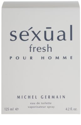 Michel Germain Sexual Fresh Pour Homme toaletna voda za moške 4