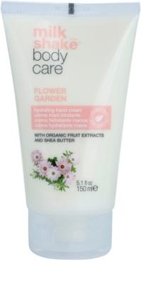 Milk Shake Body Care Flower Garden feuchtigkeitsspendende Creme für die Hände