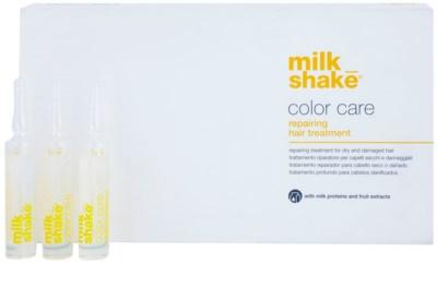 Milk Shake Color Care kuracja pielęgnacyjna  do włosów suchych i farbowanych 1