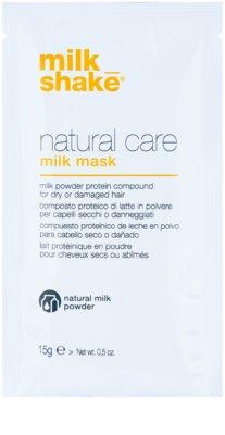 Milk Shake Natural Care Milk máscara de leite fortificante para cabelo