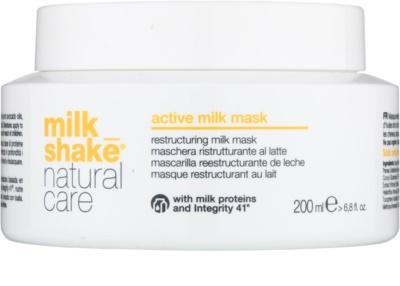 Milk Shake Natural Care Active Milk aktivna mlečna maska za suhe in poškodovane lase