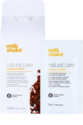 Milk Shake Natural Care Cocoa regeneráló hajmasz  csokoládéval 1