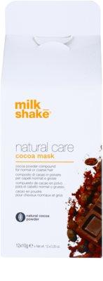 Milk Shake Natural Care Cocoa regeneráló hajmasz  csokoládéval 2