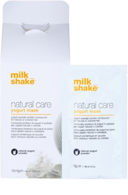 Milk Shake Natural Care Yogurt regenerierende Maske mit Jogurth 1