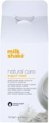 Milk Shake Natural Care Yogurt Mască regeneratoare cu iaurt