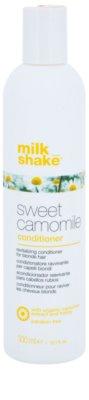Milk Shake Sweet Camomile acondicionador nutritivo para cabello rubio