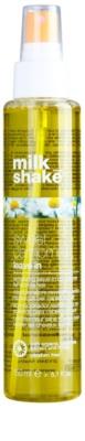 Milk Shake Sweet Camomile acondicionador nutritivo sin aclarado   para cabello rubio